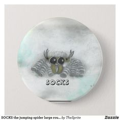 Shop SOCKS the jumping spider large round button created by TheSprite. Personalize it with photos & text or purchase as is! Jumping Spider, Sock Shop, Old Art, Custom Buttons, Handmade Jewelry, Socks, Web Address, Design, Handmade Jewellery