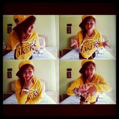 Hip Hop Girl~ Lakers NBA