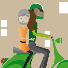 Folleto En moto y seguro
