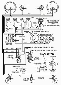 electric wiring diagram instrument panel 39 60s chevy How to Wire a Hot Rod Diagram
