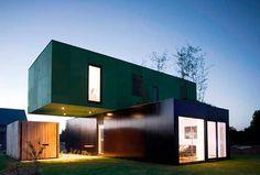 Casa hecha con containers