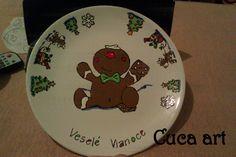 Vianočný perníček na tanieri