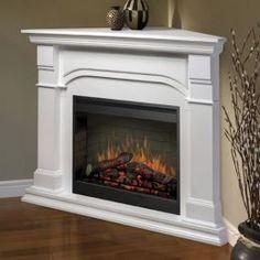 Buy an Electric Fireplace - Make it a Corner Fireplace