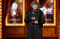Jenny Tiramani accepts the award for Best Costume Design of a Play for 'Twelfth Night' onstage during the 68th Annual Tony Awards at Radio City Music Hall on June 8, 2014 in New York City.   Credit: Getty Images for Tony Awards Pro