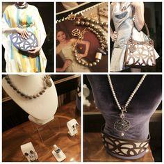 3820Fashion on top es la nueva colección de la diseñadora costarricense Ana Gutiérrez, quien esta vez sorprende con una línea de accesorios de plata o metal bañado en oro, bolsos de cuero y vestidos de noche o coctel.  Si querés más información, da clic en la imagen.