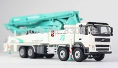 169.00$  Watch now - http://aigz9.worlditems.win/all/product.php?id=32230468867 - 1/50 Everdigm Volvo Concrete Pump Truck ECP52CX/52CX-5 DieCast Model Construction vehicles Toy