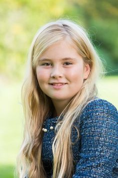 Amalia,princess of Orange, the eldest daughter and queen to be of our King and Queen The Netherlands