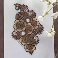 I have something very exciting coming up tomorrow! Cant wait to share with you all! Modern Henna Designs, Floral Henna Designs, Mehndi Designs Book, Full Hand Mehndi Designs, Mehndi Designs For Beginners, Mehndi Designs For Girls, Mehndi Design Photos, Mehndi Designs For Fingers, Beautiful Mehndi Design