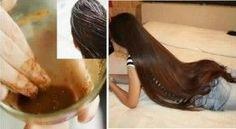 Incredible Recipe For Fast Hair Growth, Smooth Hair and Healthy Hair Hair And Beauty, Hair Balm, Diy Hair Mask, Natural Hair Styles, Long Hair Styles, Hair Remedies, Natural Remedies, Smooth Hair, Tips Belleza