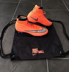 Pic by Of his mercurial superfly 4 from the metal flash pack… Girls Soccer Cleats, Nike Cleats, Soccer Gear, Soccer Equipment, Football Cleats, Soccer Ball, Soccer Stuff, Cleats Shoes, Football Players
