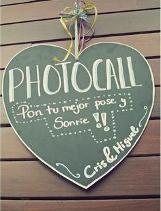 Paso paso que me caso: Photocall y photo booth