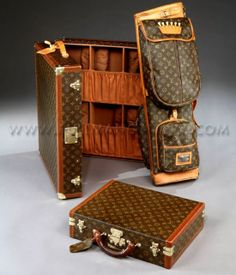 Louis Vuitton Shoes Trunk and Golf Bag