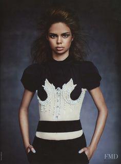 The Miu Mix in Vogue Australia with Samantha Harris wearing Miu Miu - Fashion Editorial | Magazines | The FMD #lovefmd