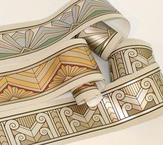 Art Deco Wallpaper & Borders | Retro Wallpaper | Bradbury & Bradbury                                                                                                                                                                                 More
