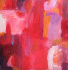 ARTFINDER: Red Rum by Deborah van der Zaag - Abstract oil on Panel