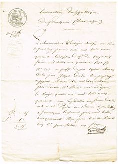 1872 French Document with Spanish Postage Seal - Knick of Time