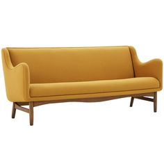 Exceptional sofa by Finn Juhl, Denmark, 1954 for Bovirke | From a unique collection of antique and modern sofas at http://www.1stdibs.com/furniture/seating/sofas/