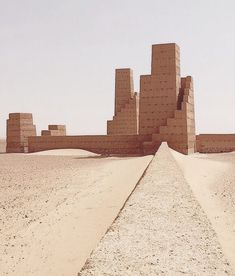 Hannsjorg Voth, City Of Orion, Southern desert of Morocco . Sacred Architecture, Vernacular Architecture, Concept Architecture, Landscape Architecture, Interior Architecture, Southern Deserts, Architectural Section, Interesting Buildings, Brutalist