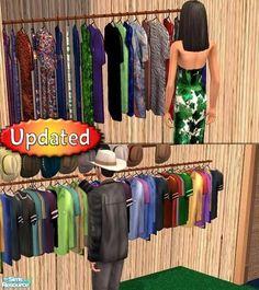 Dr Pixel's Closet Pole Dressers