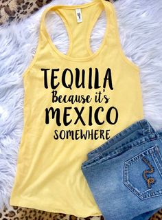 92cabfae0 Te Amo - Tequila Tank - Ruffles with Love - RWL - Workout Tank - Fitness  Tank - Graphic Tee - Funny Tank - Cardio | Ruffles With Love | Workout tanks,  ...