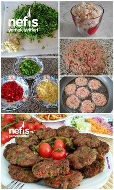 Original meatballs from the master – delicious recipes Original Fleischbällchen vom Meister – Leckere Rezepte Original meatballs from the - Healthy Salads, Healthy Recipes, Snack Recipes, Delicious Recipes, Turkish Recipes, Ethnic Recipes, Albondigas, Meatball Recipes, Ground Beef