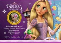 free printable rapunzel birthday party invitations Rapunzel Party