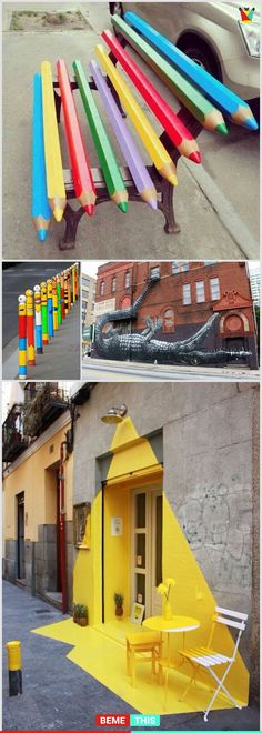 10+ Amazing Architecture Designs That Turns Boring Places Into Fun Places #architecture