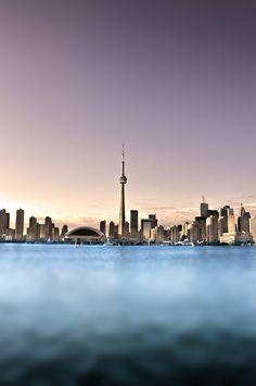 Skyline from my fave spot on the Toronto Islands #Toronto