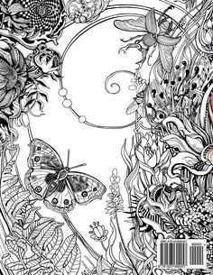 Buy Manic Botanic Zifflins Coloring Book Online At Low Prices In India