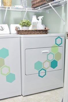 Hexagon washer and dryer {a tutorial}                                                                                                                                                     More