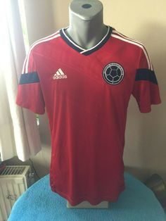 COLOMBIA 2013/14 Away Football Shirt Soccer Jersey Trikot Camiseta Maillot YTH #adidas #Colombia Soccer Pics, Soccer Pictures, Adidas Colombia, Football Shirts, Online Price, Polo Ralph Lauren, Best Deals, Mens Tops, Ebay