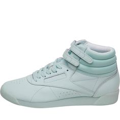 9feaafe8790 Buy Reebok Classics Womens Freestyle Hi Color Bomb Trainers Mist White