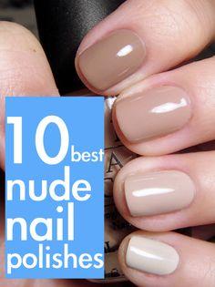 nude nail polish.  I hope Shannon G see this.