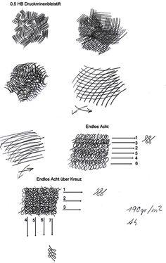 Schatten: Schattieren und schraffieren