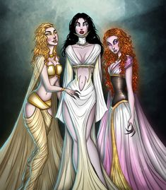 The brides from Van Helsing! Love that movie so much. Happy Halloween!