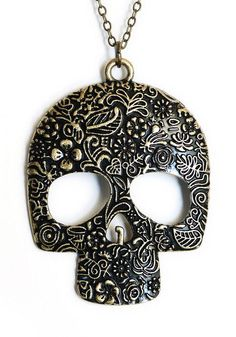 Sugar Skull Necklace ♥