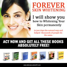 Finally, A Skin Whitening Solution That Works! Whitening your Skin Easily, Naturally and Forever...