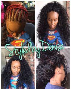 Ideas For Crochet Braids Pattern Curly Crochet Braid Pattern, Crochet Braid Styles, Braid Patterns, Crochet Hair, Tree Braids Hairstyles, My Hairstyle, African Hairstyles, Braided Hairstyles For Wedding, Black Hairstyles
