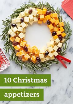 10 Christmas Appetizers