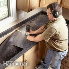 How To Remove Laminate Countertops And Install New | For Our Next House |  Pinterest