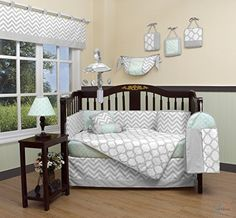 GEENNY Boutique Baby 13 Piece Crib Bedding Set, Soft Mint... https://smile.amazon.com/dp/B01JPELUFA/ref=cm_sw_r_pi_dp_x_TYkKybBPNYNA5
