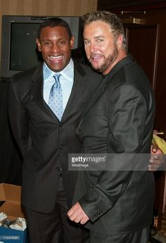 Sammy Sosa and William Petersen during Spike TV Presents the 2003 GQ... News Photo | Getty Images