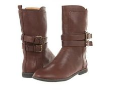 My new favorite pair of boots - Nine West Sorbie (I have them in black) Dark Brown Boots, Dark Brown Leather, Running Trainers, Flat Boots, Boots For Sale, Mid Calf Boots, Look Chic, Nine West, Riding Boots