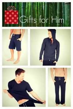 Christmas Gift ideas for Him - Ethical & Organic Bamboo Clothing. T-shirts, Shorts, Hoodie, Lounge Pants. Travel Wear, My Wish List, Lounge Pants, Gifts For Him, Bamboo, Christmas Gifts, About Me Blog, Organic, Gift Ideas