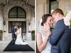Union Station Wedding |  Nashville, TN