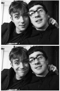 Damon Albarn and Graham Coxon
