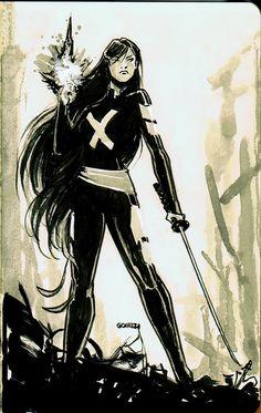 Psylocke by JoelGomez.deviantart.com on @deviantART