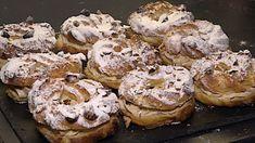Dezert Paris Brest sice vypadá jako věneček, ale má do něj daleko. Paris Brest, Doughnut, Ale, Deserts, Muffin, Food And Drink, Treats, Baking, Breakfast