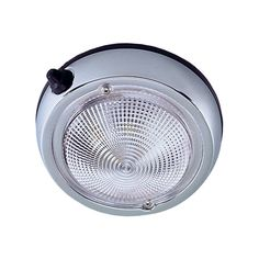 """Perko Surface Mount Dome Light - 3"""" - Chrome Plated - https://www.boatpartsforless.com/shop/perko-surface-mount-dome-light-3-chrome-plated/"""