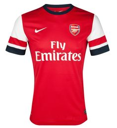 maillot Arsenal 2012 2014 de football domicile